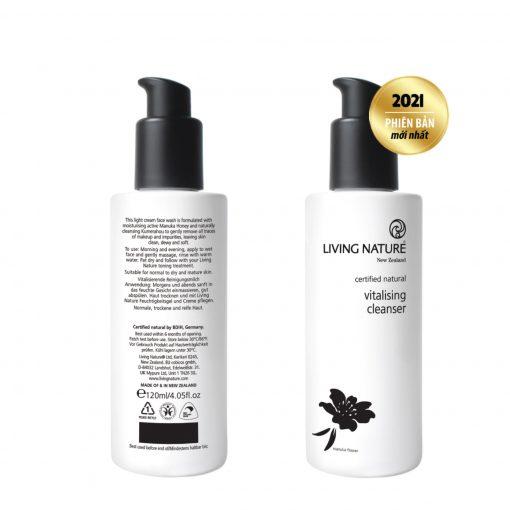 Sữa rửa mặt Living Nature Vitalising Cleanser 2