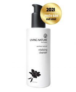 Sữa rửa mặt da khô Living Nature Vitalising Cleanser 120ml