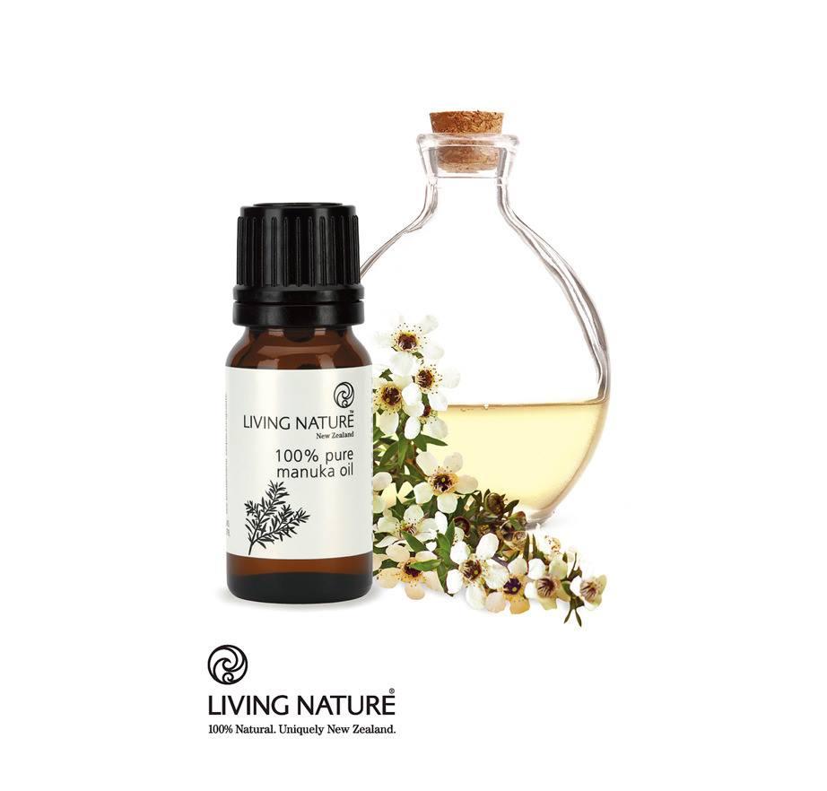 Tinh dầu Manuka 100% Pure Manuka Oil - Living Nature, New Zealand