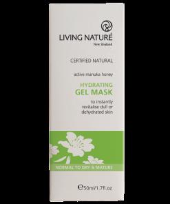 Mặt nạ dưỡng ẩm Living Nature Hydrating Gel Mask 1