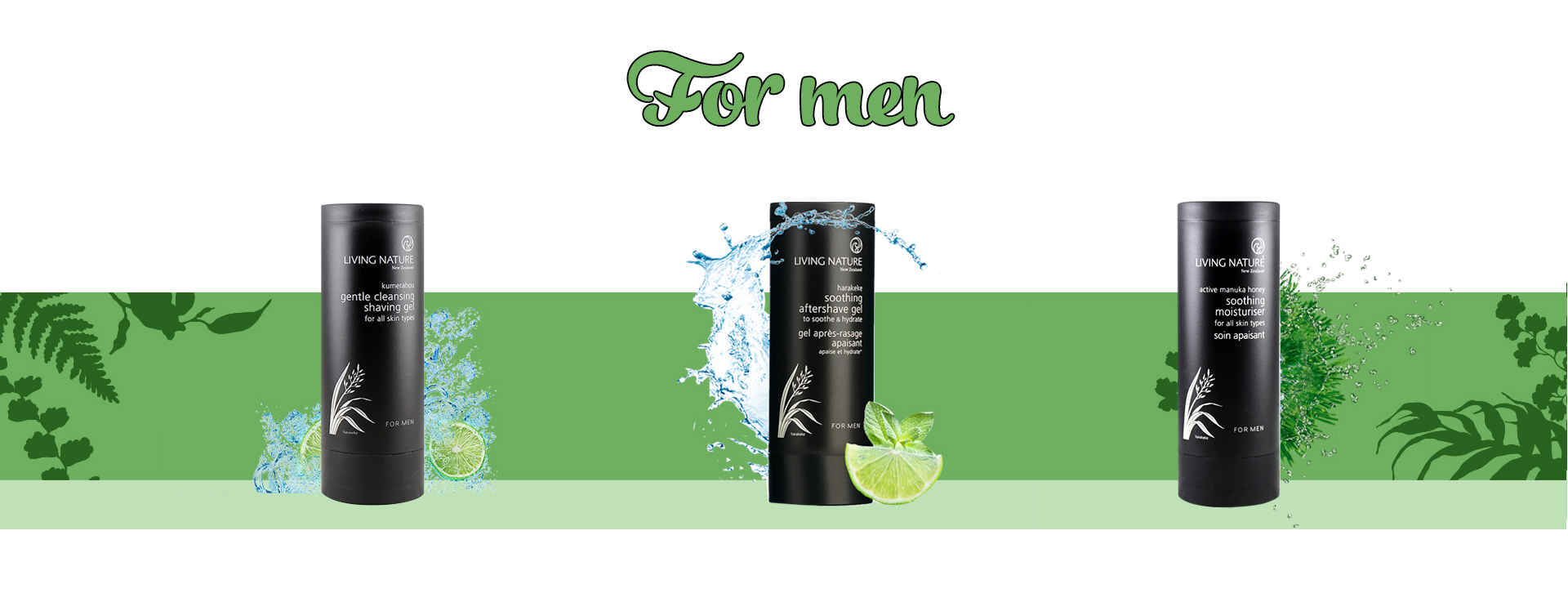 Dòng sản phẩm dành cho nam living nature