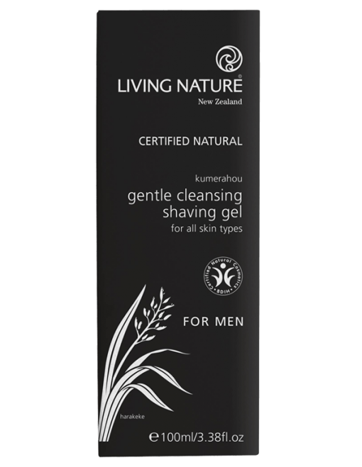 Gel cạo râu Living Nature Gentle Cleansing Shaving Gel 1