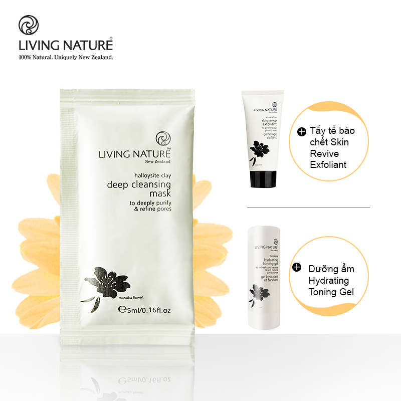 Mặt nạ đất sét Living Nature Deep Cleansing Mask 9