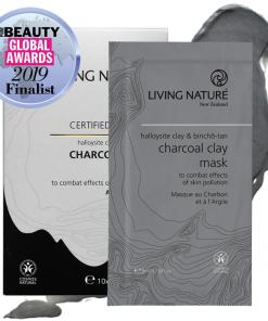 Mặt nạ đất sét than hoạt tính Living Nature Charcoal Clay Mask 1