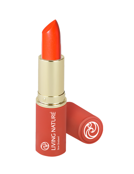 Son môi san hô Living Nature Electric Coral 15 - Limited Edition Lipstick