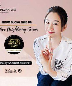 Serum dưỡng sáng da Living Nature Active Brightening Serum 30ml