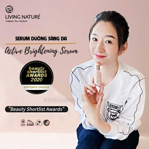 Serum dưỡng sáng da Living Nature Active Brightening Serum 30ml