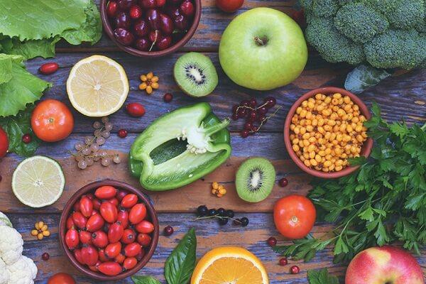 Ăn nhiều rau để bổ sung chất sơ