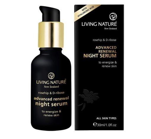 Serum dưỡng da ban đêm Living Nature Advanced Renewal Night 2