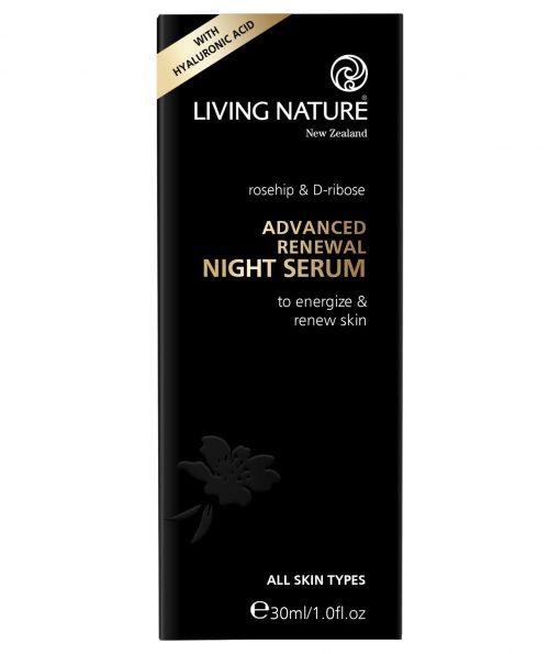 Serum dưỡng da ban đêm Living Nature Advanced Renewal Night 3